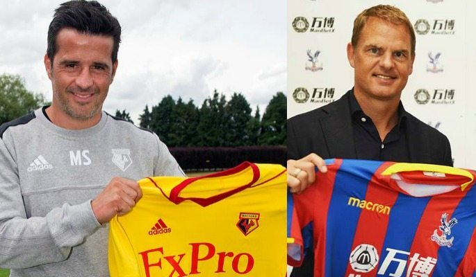 Marco Silva is the new Watford boss while Frank de Boer is now in charge of Crystal Palace