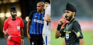 Referee Sukhbir Singh gets abuse at Chelsea vs Inter Game