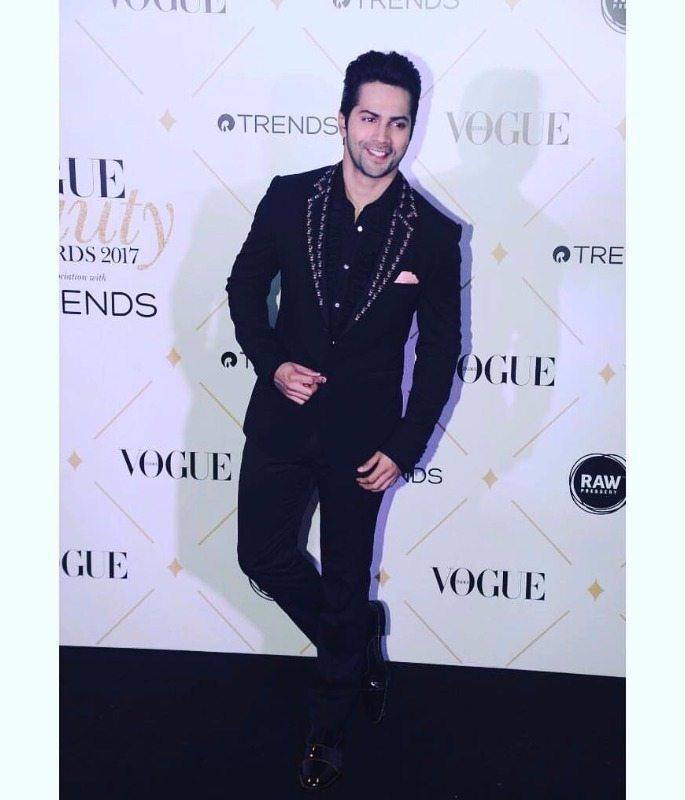 Varun Vogue Beauty Awards