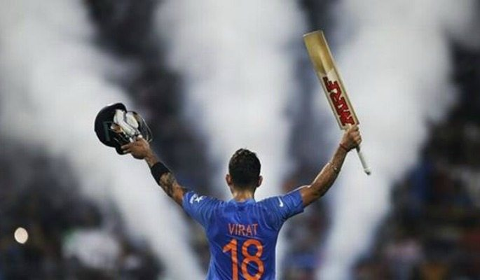 Virat Kohli is one of the world's greatest batsman