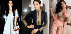 Weekend Fashion: Jacqueline and Sana Khan's Chic Looks
