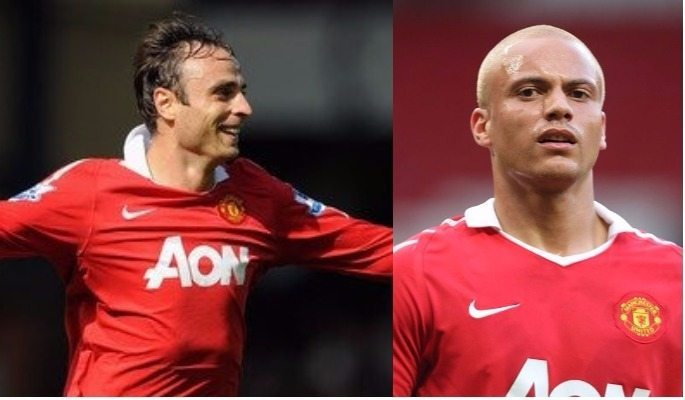 Wes Brown and Dimitar Berbatov are former Premier League players and former Manchester United teammates too