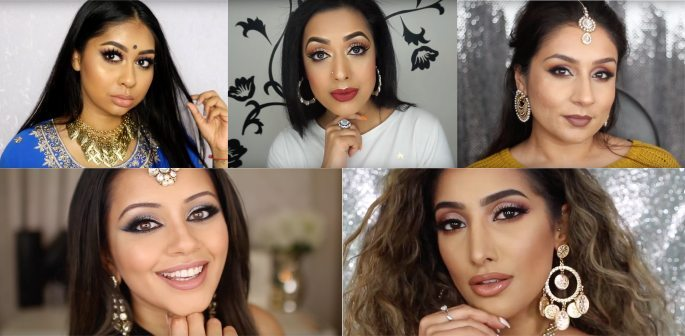 College of British Asian beauty vloggers