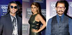 Bollywood Stars dazzle at GQ Men of the Year 2017 Awards