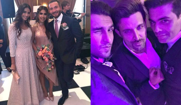 Bollywood Stars celebrate £4M Indian Wedding in London