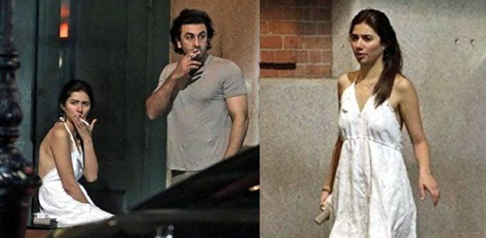 Mahira Khan slammed for Smoking with Ranbir Kapoor and Short, Backless Dress
