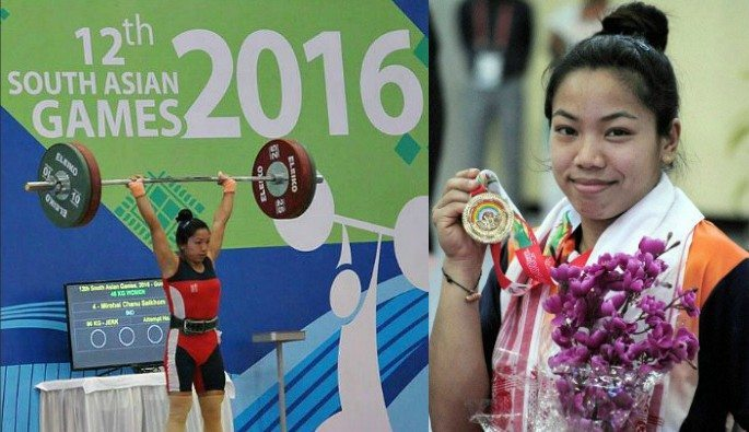 Saikhom Mirabai Chanu was the only female Indian weightlifter to be a part of the 2016 Indian Olympic Team.
