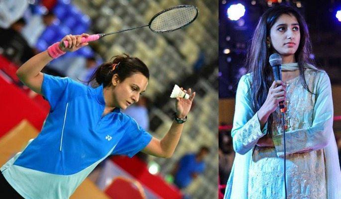 Palwasha Bashir and Mahoor Shahzad are close in the BWF World Rankings