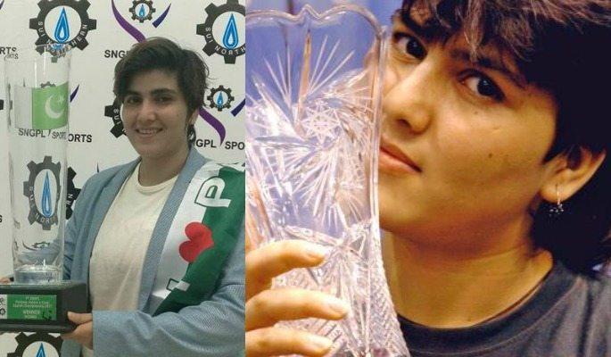 Maria Toorpakai is Pakistan's top ranked female squash player