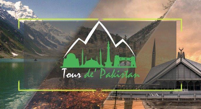 150 cyclists compete in the annual International Tour de Pakistan Race