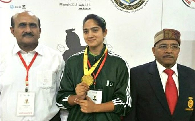 Twinkle Sohail is Pakistan's first female weightlifter to win a gold medal in an international event.