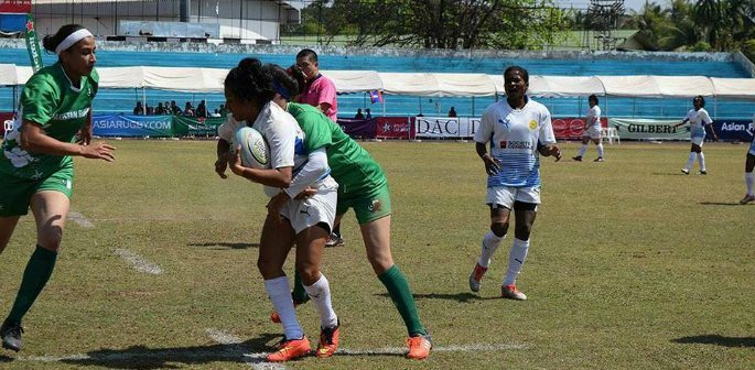 In February 2017, the Pakistani Women's rugby team made their historic international debut.