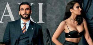 Ranveer Singh & Elena Fernandes ooze Sex Appeal on Maxim India Cover