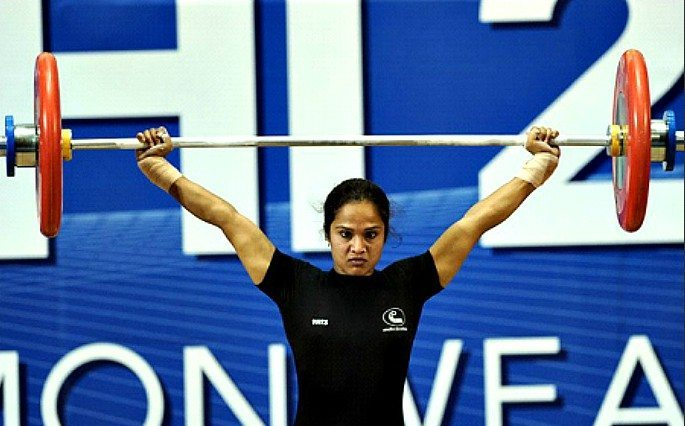 Another one of the Indian women weightlifters to benefit from Chika Amalaha's disqualification is Swati Singh.