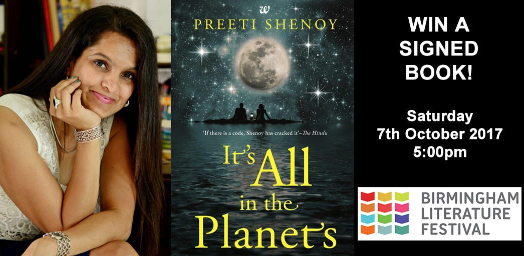 Win a Free Signed Copy of Preeti Shenoy It's All in the Planets