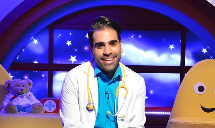 Ranj Singh on Cbeebies