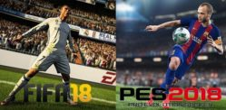 FIFA 18 vs Pro Evolution Soccer 18
