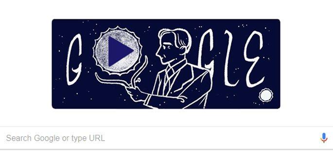 Google's illustration of Chandrasekhar