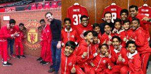 Juan Mata brings Manchester United Joy to Mumbai Youngsters