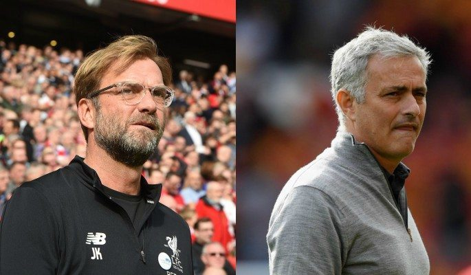 Managers Jurgen Klopp and Jose Mourinho have different opinions on the match