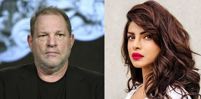 College of Harvey Weinstein and Priyanka Chopra