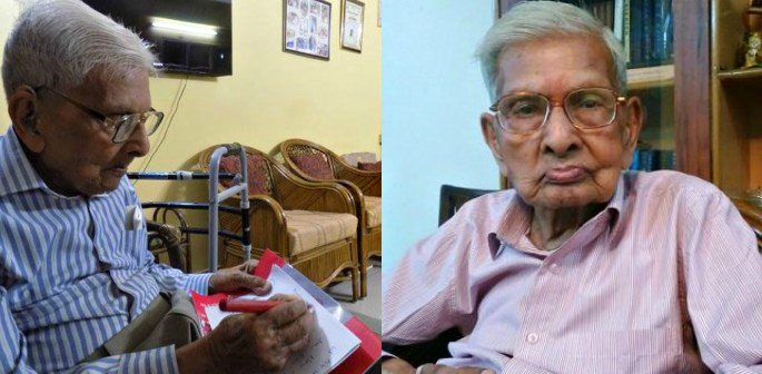 97-year-old Raj Kumar Vaishya passes MA Exams in India