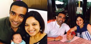 Cricketer Robin Uthappa and Sheethal Goutham have First Baby