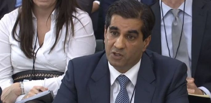 Ranjit Singh Boparan talking in the public inquiry