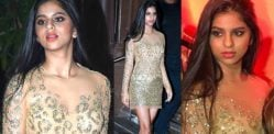 Suhana Khan turns heads at Mother Gauri Khan's Party