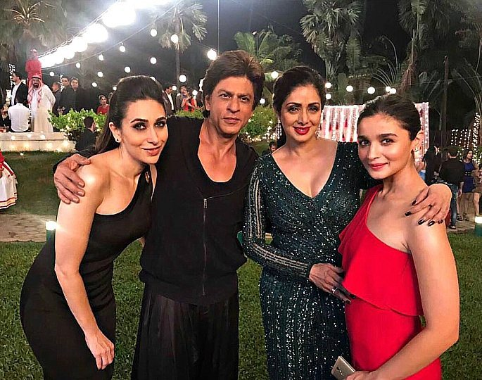 Weekend Fashion: SRK, Karisma, Sridevi & Alia are Glamorous