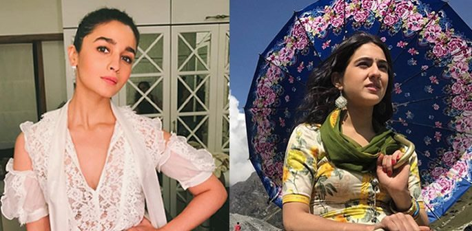 Weekend Fashion: Alia and Sara look Elegant and Romantic