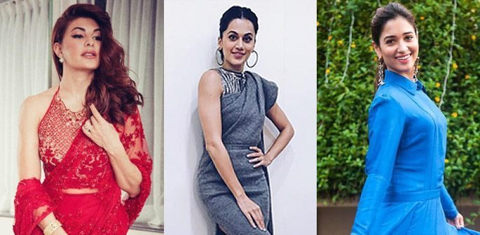 Jacqueline, Taapsee and Tama