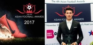 Winners of the Asian Football Awards 2017