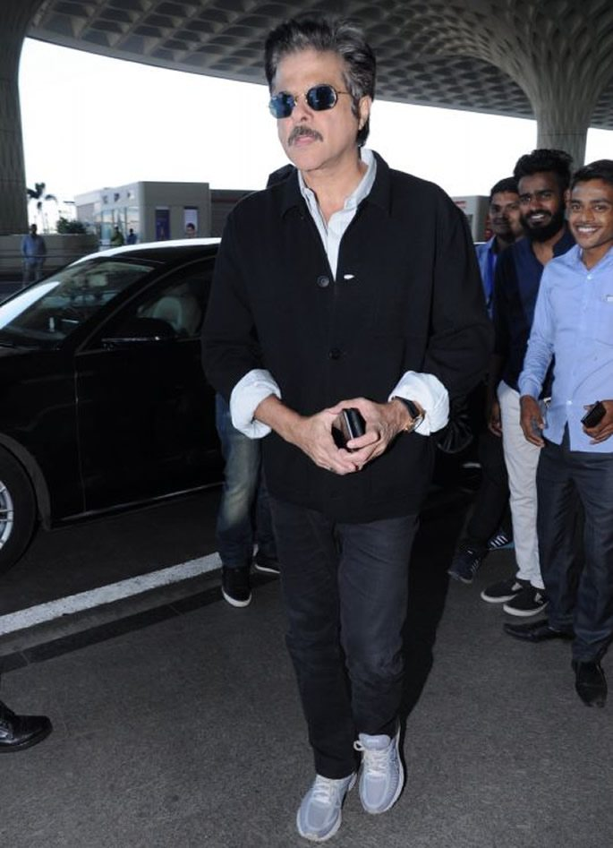 Anil at Mumbai airport