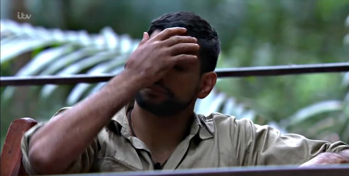 It wasn't a great start to I'm A Celebrity... Get Me Out Of Here 2017 for Amir Khan