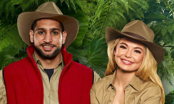 Amir Khan and Georgia 'Toff' Toffolo will take part in the first bushtucker trial of the series