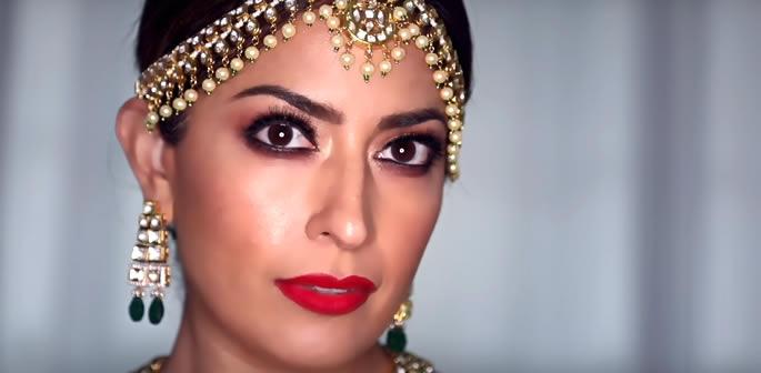 Stunning Bollywood Bridal makeup look