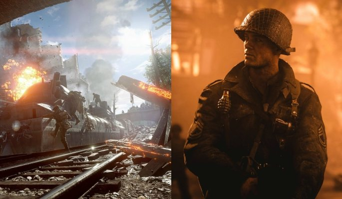 COD: WW2 and Battlefield 1 graphics