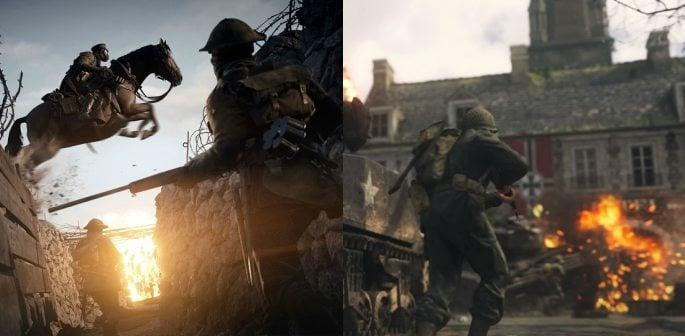COD: WW2 and Battlefield