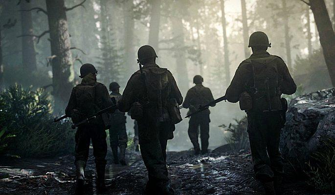 COD: WW2 narrative