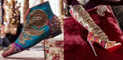 Christian Louboutin and Sabyasachi launch Unique Shoe Collection