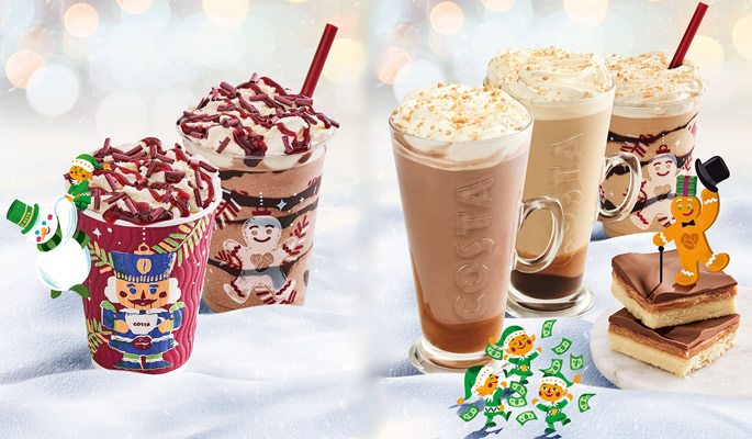 Costa's Christmas range