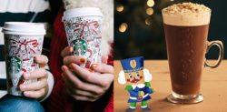 Christmas Drinks at Starbucks vs Costa for 2017