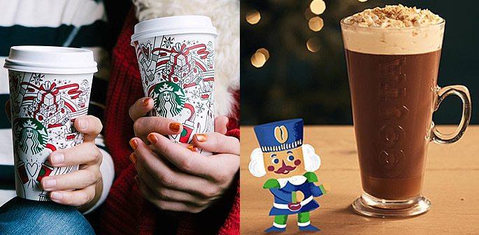 Starbucks and Costa