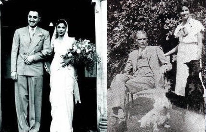 दीनाने 1938 मध्ये नेव्हिलेशी लग्न केले