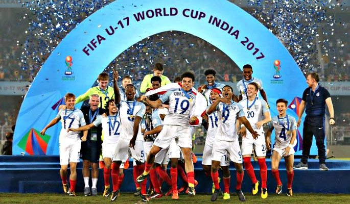 Rhian Brewster and Phil Foden were instrumental in helping England to win the 2017 FIFA Under-17 World Cup