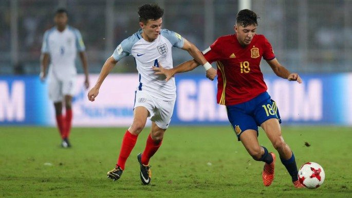 England and Spain played out the final of the 2017 FIFA Under-17 World Cup