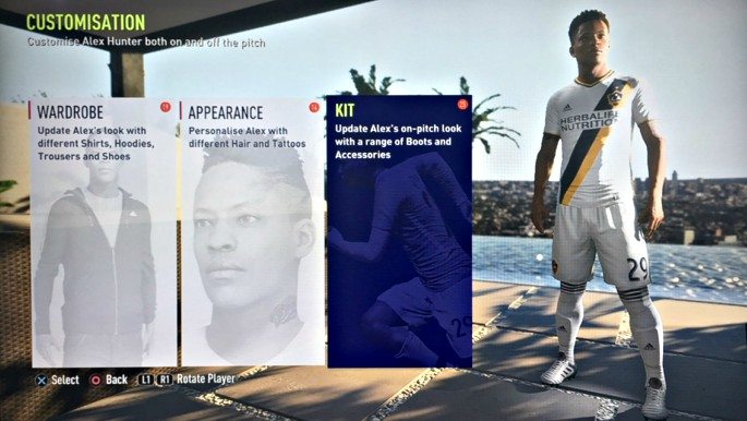 FIFA 18 sees the continuation of The Journey mode