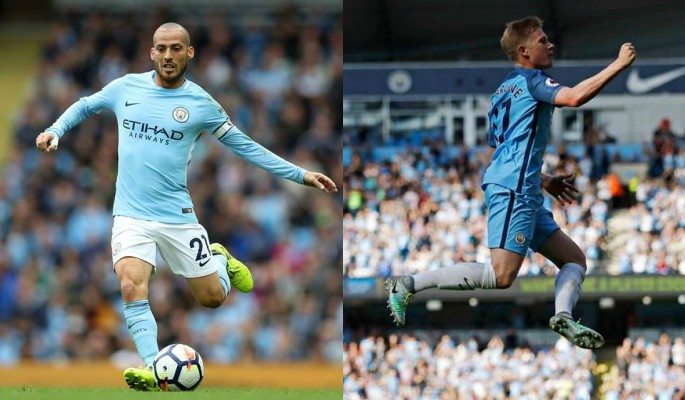 David Silva and Kevin De Bruyne offer the best consistency for Man City