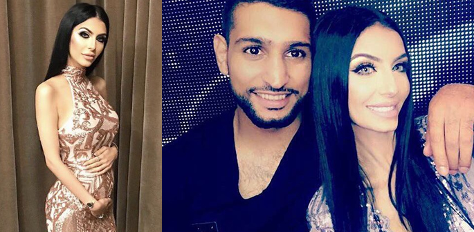 Faryal with Amir
